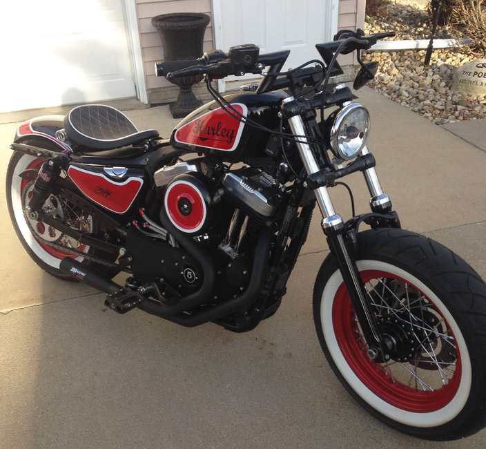 Harley Fxr Turbo: RB Racing LSR 2-1 Pro Stock For Harley-Davidson