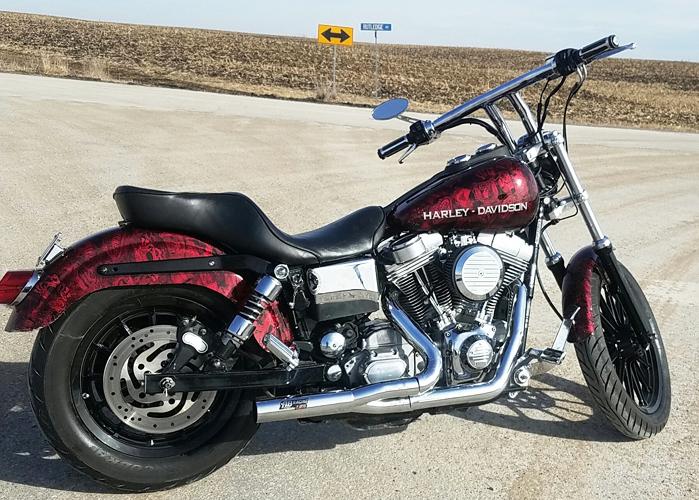 RB Racing LSR 2-1 Pro Stock for Harley-Davidson