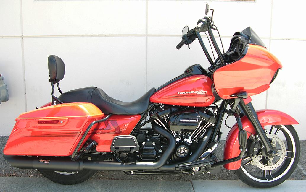 RB Racing LSR Pro Stock Spyder 2-1 Exhausts for Harley-Davidson