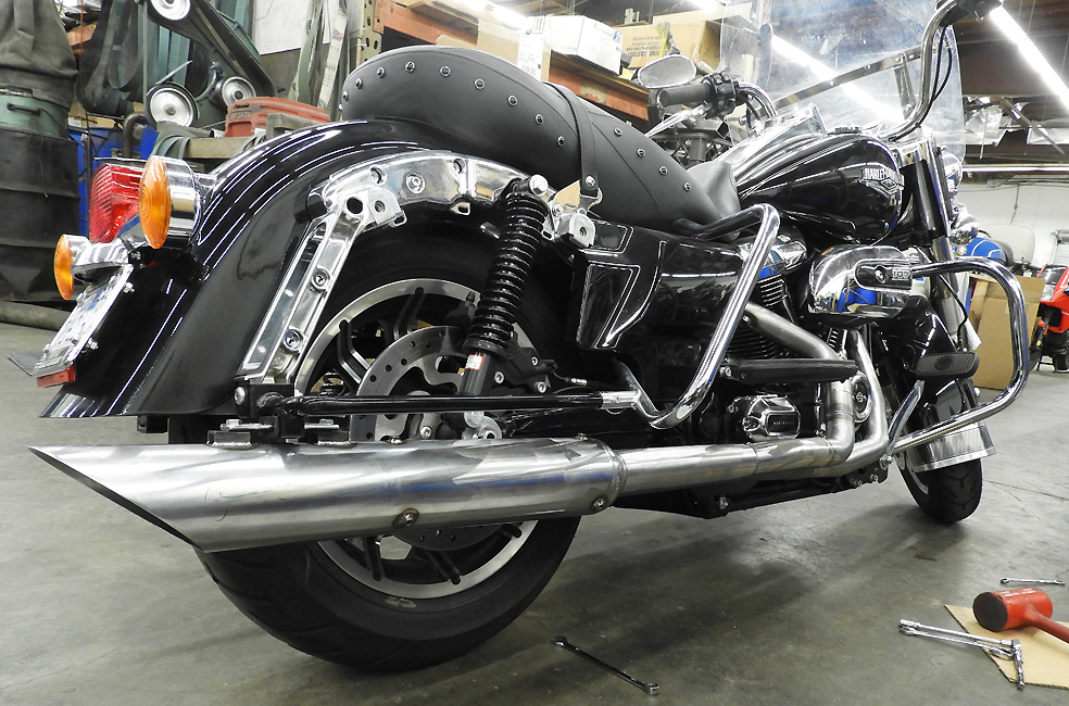 RB Racing LSR Pro Stock Spyder 2-1 Exhausts for Harley-Davidson