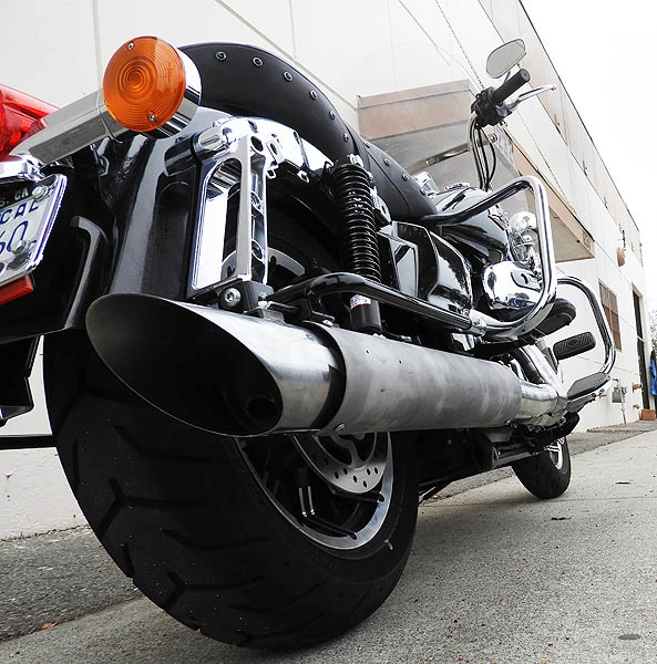 RB Racing LSR Black Hole 2-1 Exhausts for Harley-Davidson