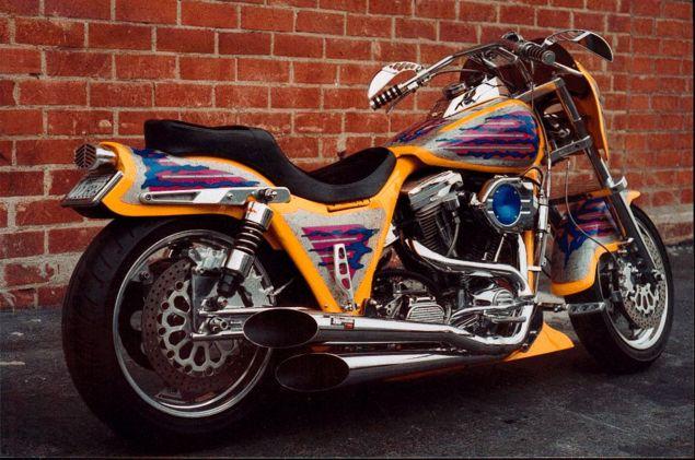 Harley Davidson And The Marlboro Man Bike