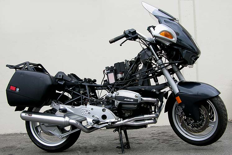bmw r1100 black holeexhausts. Black Bedroom Furniture Sets. Home Design Ideas