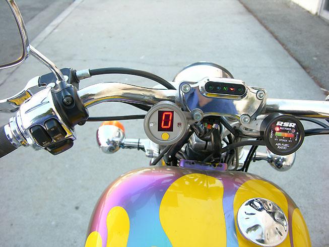 RSR Bonneville Gear Indicator