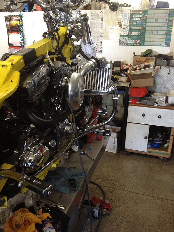 RB Racing Harley Turbos