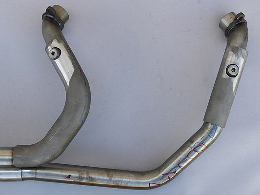 RB Racing Indian LSR 2-1 Pro Stock Spyder Exhausts