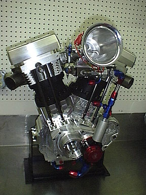 Building Motorcycle Race Engines