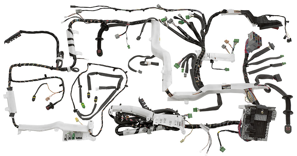 Motorsports ECU Wiring Harness Construction on